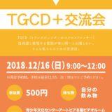 TGCD+交流会 さま チラシ